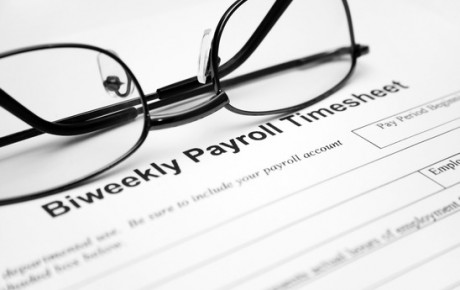Payroll time sheet